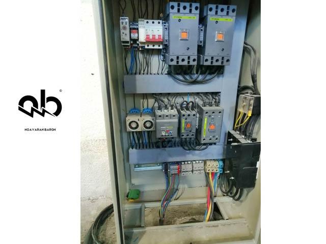 تعمیر تابلو برق راه انداز دستگاه صنعتی