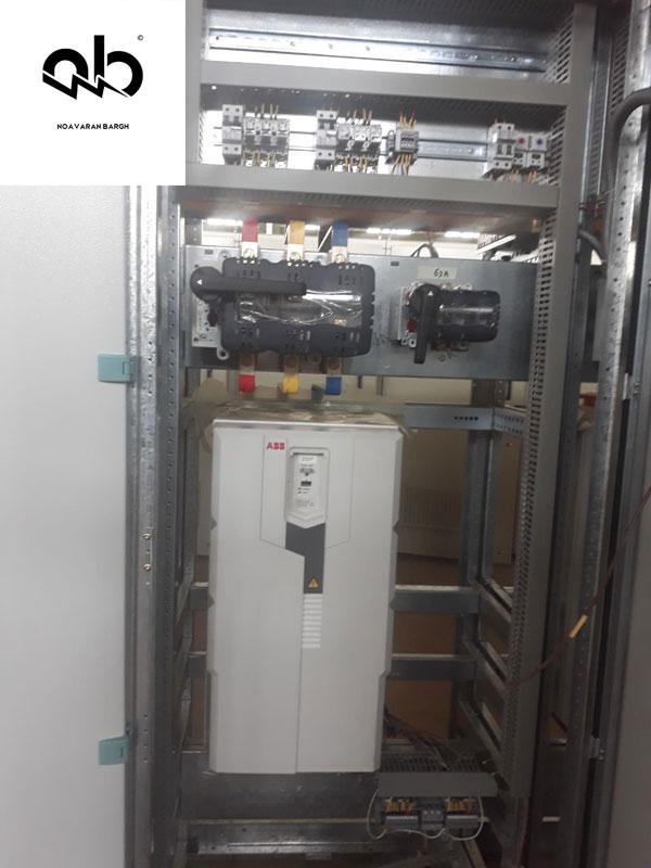 راه اندازی با اینورتر VTF (درایو فرکانس متغیر)